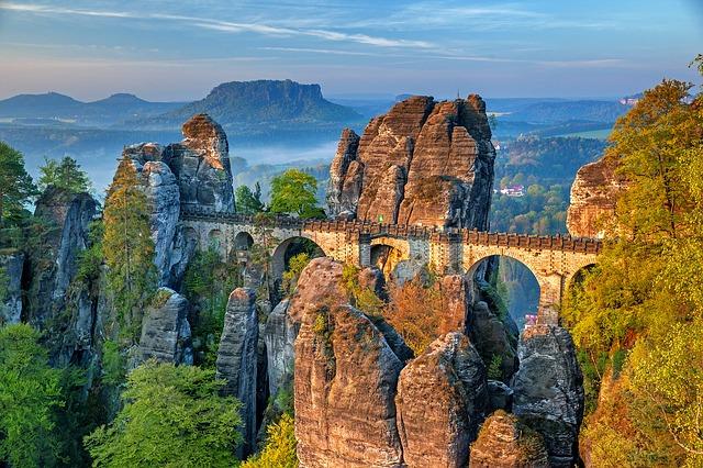 Бастайский мост, Саксонская Швейцария